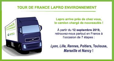 Tour de France Lapro Environnement